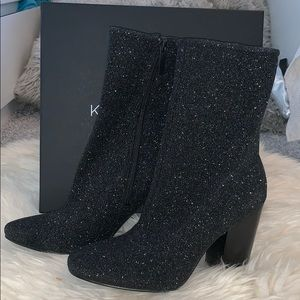 Kendall and Kylie Sparkly Boots